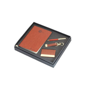 4 in 1 Corporate Gift Set (Brown)