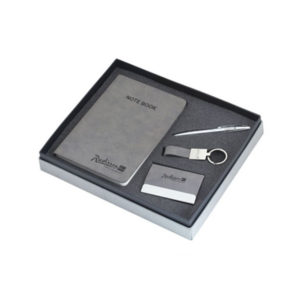 4 in 1 Corporate Gift Set (Grey)