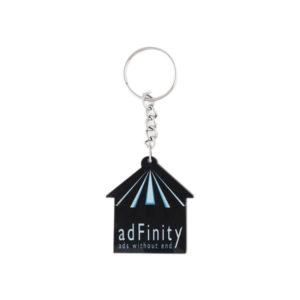 Acrylic Key Chain (Black & Blue)
