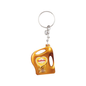 Acrylic Key Chain (Dark Yellow)
