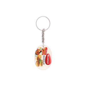 Acrylic Key Chain (Multicolor)