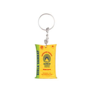 Acrylic Key Chain (Yellow)