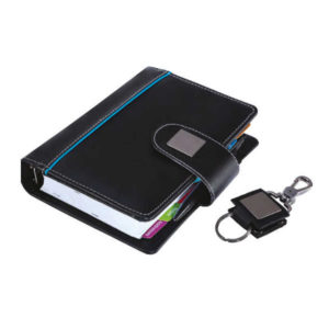Business Organiser with Key Chain