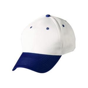 Cap (White & Blue)