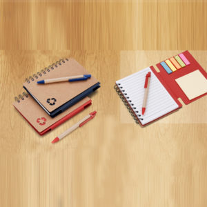 Eco Friendly Note Book with Pen