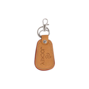 Leather Key Ring Brown