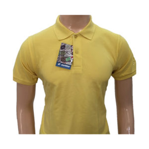 Lotto T-Shirt Polyester Cotton (Yellow)