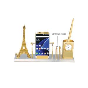 Metal Desktop with Eiffel Tower