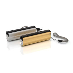 Metal Power Bank with Lighter
