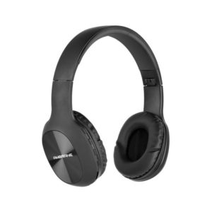 Over The Ear Wireless Headphones With FM,Mic & TF Card Support (Black)
