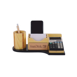 Pen Stand with Calculator