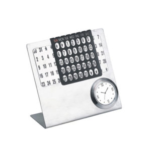 Perpetual Calendar with Table Clock