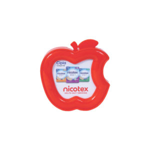 Plastic Paper Weight (Apple Shape)