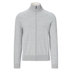 Sweatshirt Full Zipper (Gray)