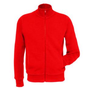 Sweatshirt Full Zipper (Red)