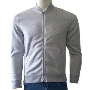 Sweatshirt Zipper (Grey)
