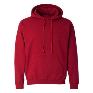 Sweatshirt with Hood (Maroon)