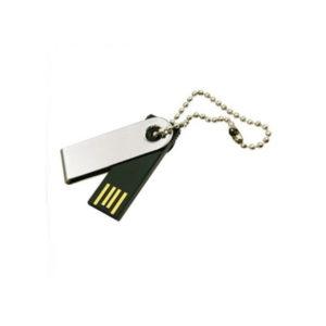 Swivel Metal Keychain USB
