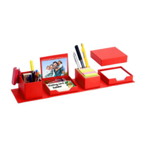 Transformer Expandable Cube Complete Desk Set