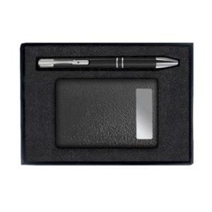 Visiting Card Holder with Pen
