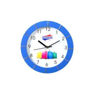 Wall Clock (Blue)