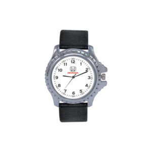 Wrist Watch with Black Straps