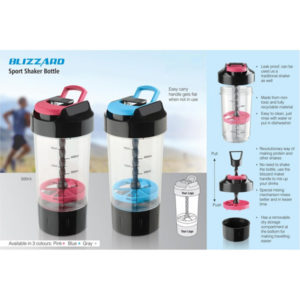 Blizzard-Shaker-with-mixer-handle-with-supplement-basket