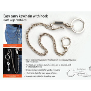 Easy-carry-keychain-with-hook-with-large-carabiner