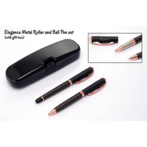 Elegance-Metal-Roller-and-Ball-Pen-Set