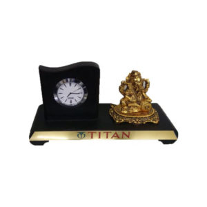 Ganesh ji with Table Clock