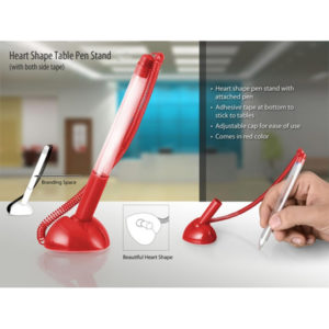 Heart-shape-table-pen-stand