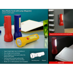 Hexa-plastic-torch-with-lamp-magnetic