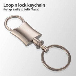 Loop-n-lock-keychain