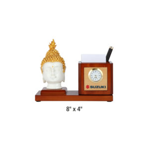 Lord Buddha with Pen Stand