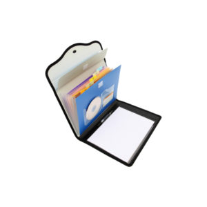Solo Conference Expanding File-6 Pockets with Pad & Pen -A4 (EF 884)