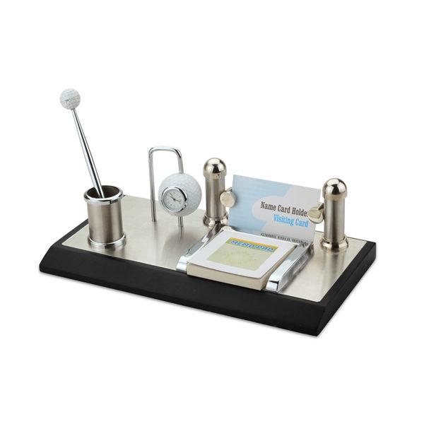4-in1-Memo-Pad,-Vcard,-Pen-and-Golf-Clock