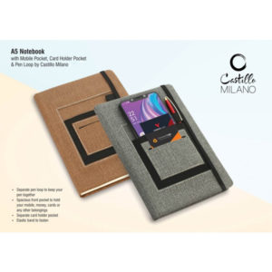 A5-notebook-with-mobile-pocket,-card-holder-pocket