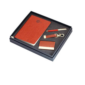 Calvin Klein (Pen +Key Chain + Visiting Card + Note Book - A5 )