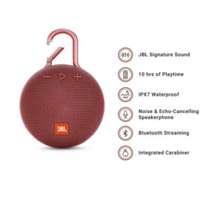 JBL-Clip-3-Ultra-Portable-Wireless-Bluetooth-Speaker-with-Mic