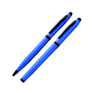 Metal Roller Ball Pen (Blue)