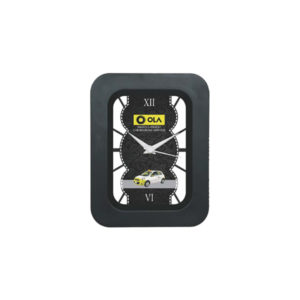 Table Clock (Rectangle) (Black)