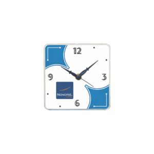 Table Clock (Square) (White)