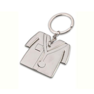doctor-coat-shape-keychain